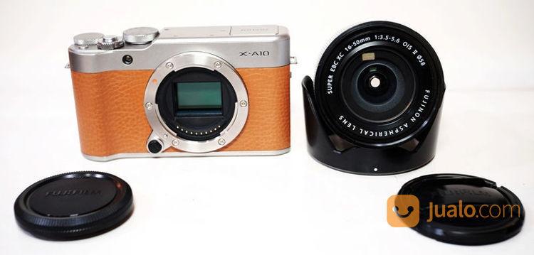 Fujifilm x a10 kit 16 kamera mirrorless 21108151