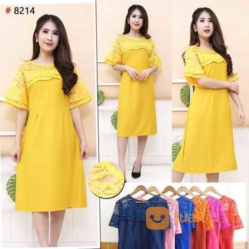 Dress cantik elegan wanita 21173831