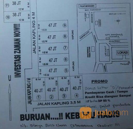 Kavling murah padat p tanah dijual 21296151