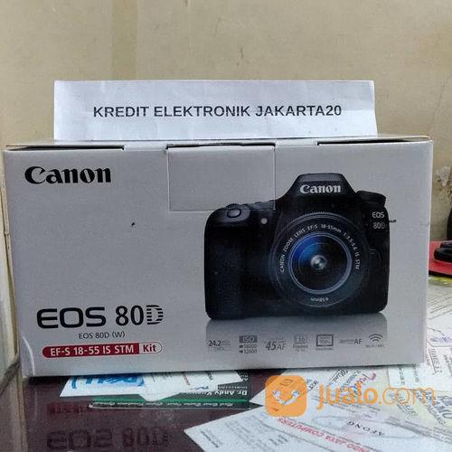 Canon 80d kit ef s 18 kamera dslr dan slr 21331851