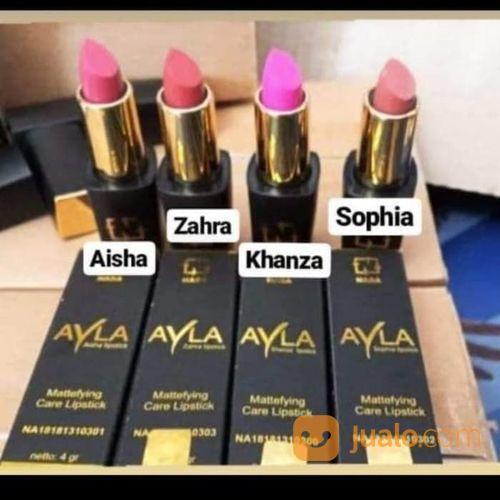 Ayla lipstik mattefyi kecantikan make up 21350735