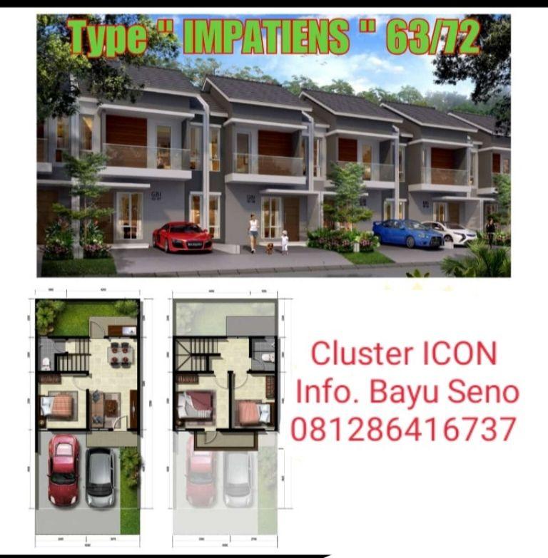 Baru Cluster ICON Grand Batavia Tangerang Dp.Cicil 18bulan