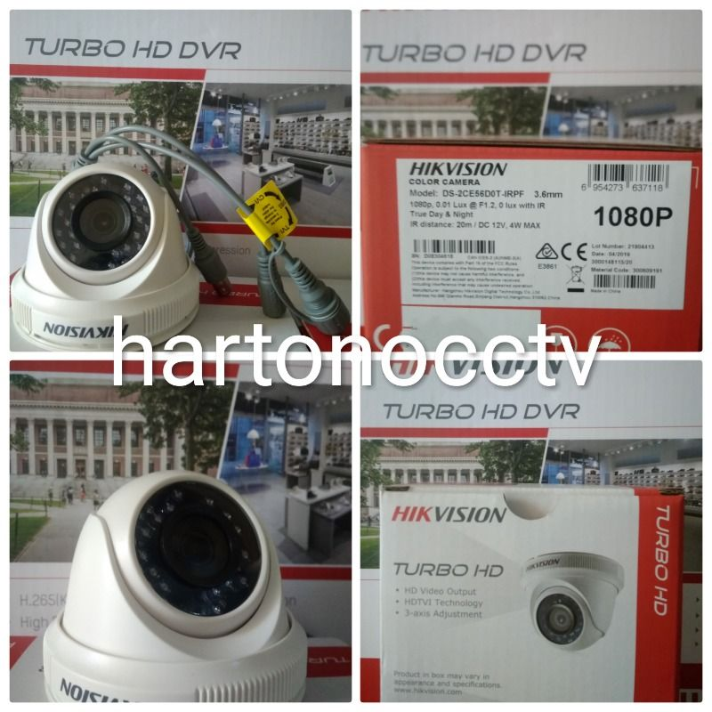 Outdoor Camera Hikvision Turbo HD 2MP 1080P