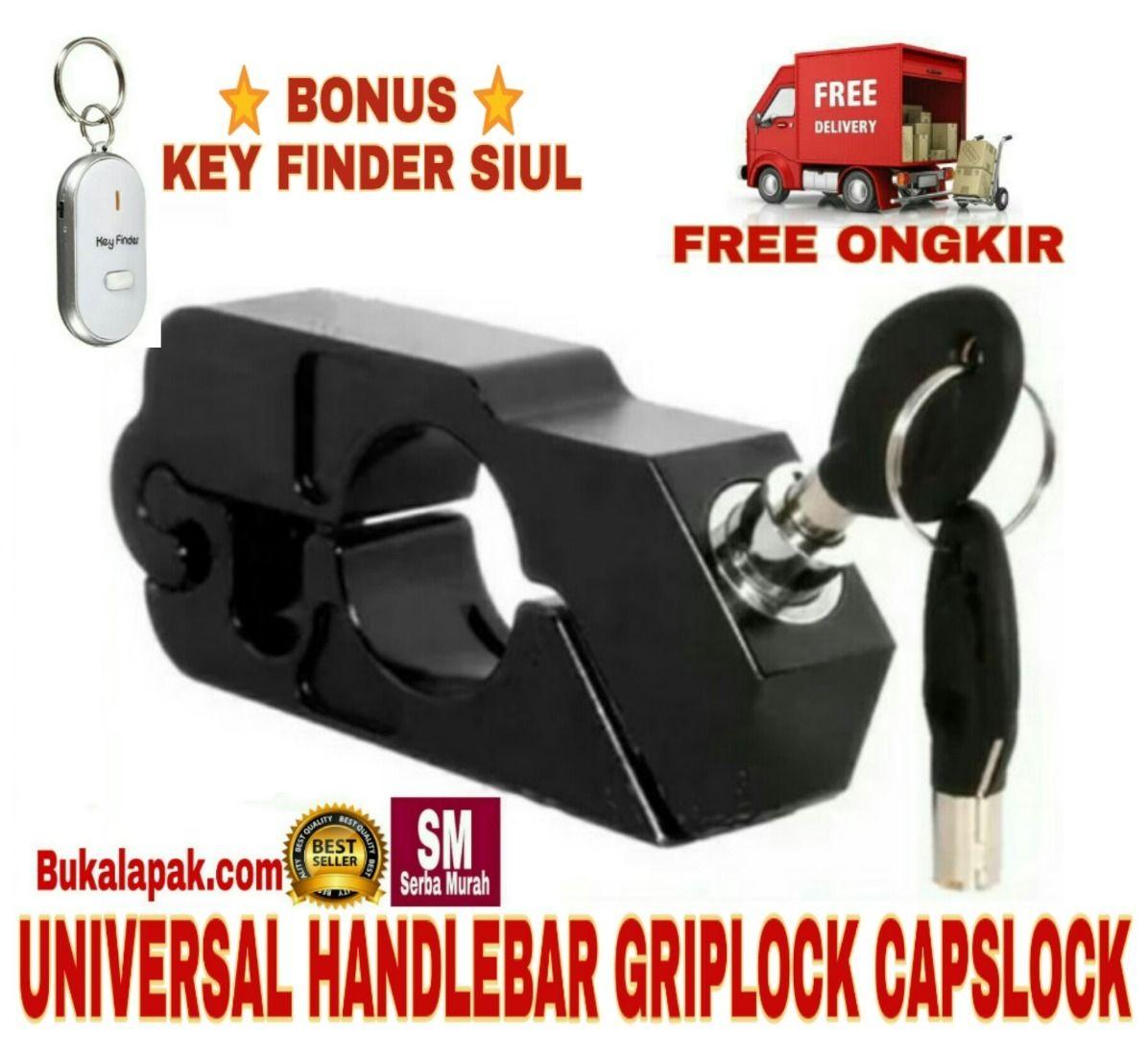 Griplock Capslock Handlebar Universal Anti Maling Untuk Kunci Gembok Stang Motor New Design
