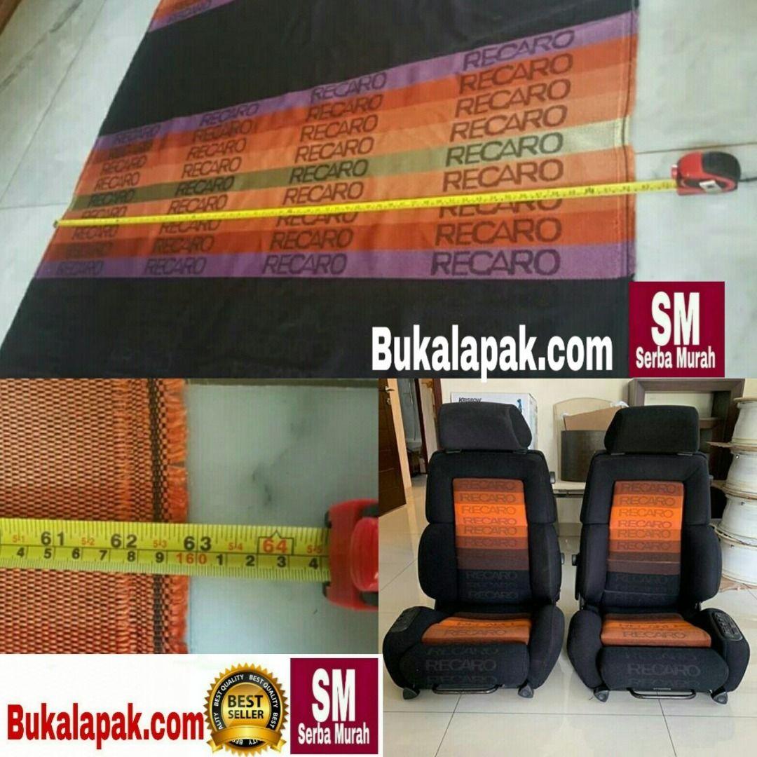 Kain Jok Recaro Orange Spectrum Gradation & Grey Gradation Original