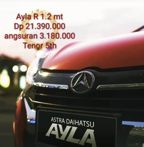 Ayla 2019 R 1.2 Mt