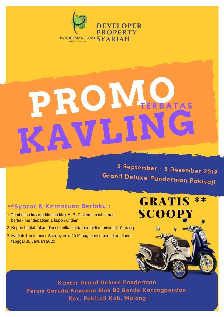 Promo Kavling Berhadiah Scoopy