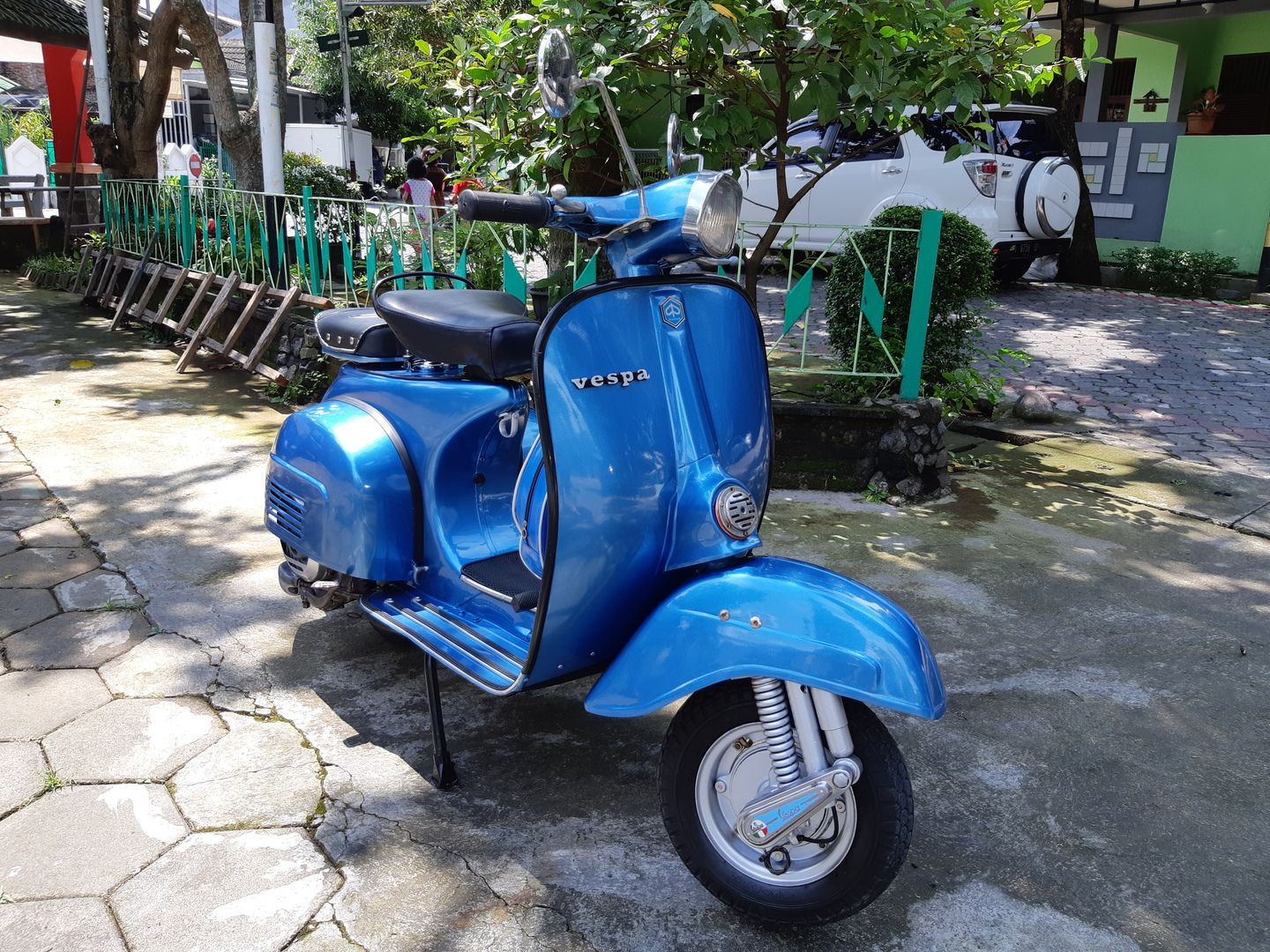 Vespa Super Grenada Blue Th 79