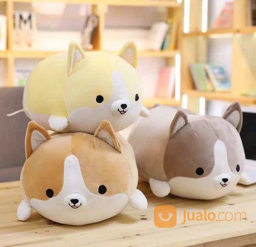 Boneka anjing corgi i mainan bayi dan anak 21554575