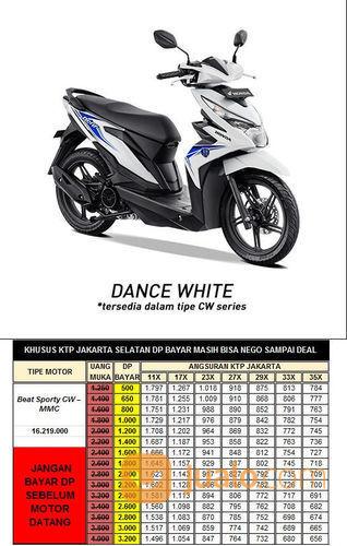 Honda beat esp cw dan motor honda 22132079