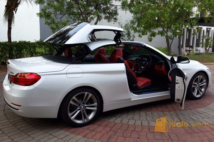 BMW 428I Convertible >> Bmw 428i Convertible White On Red Juli 2015