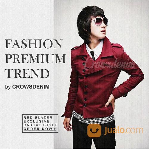 Jaket blazer merah do pria 22454991