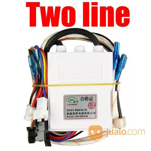 Pematik Api Gas Water Heater Two Line Kabel Tungku Api