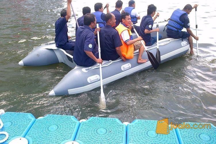 Perahu karet 12 orang olahraga olahraga air 2603809