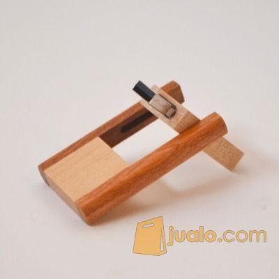 USB Kayu Putar - Flashdisk kayu Putar