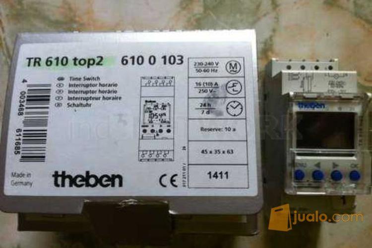 Timer theben tr 610 elektronik alat listrik 4235407