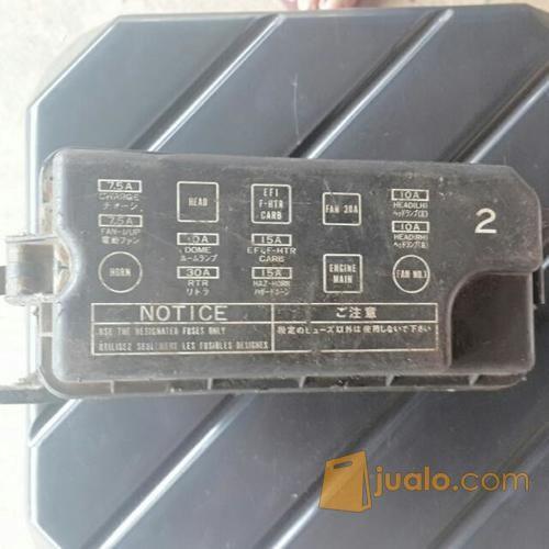 fuse box sikring box toyota corolla AE92   Jakarta Timur   Jualo Harga Fuse Box Great Corolla on
