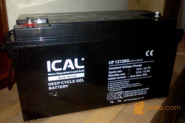 Aki 120ah vrla deep c elektronik alat listrik 4520063
