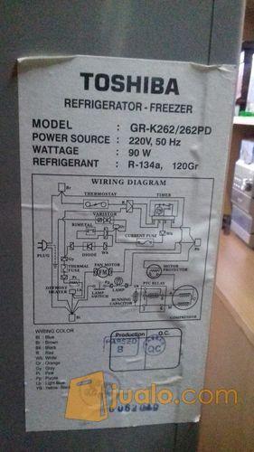 Wiring Diagram Kulkas 2 Pintu Toshiba