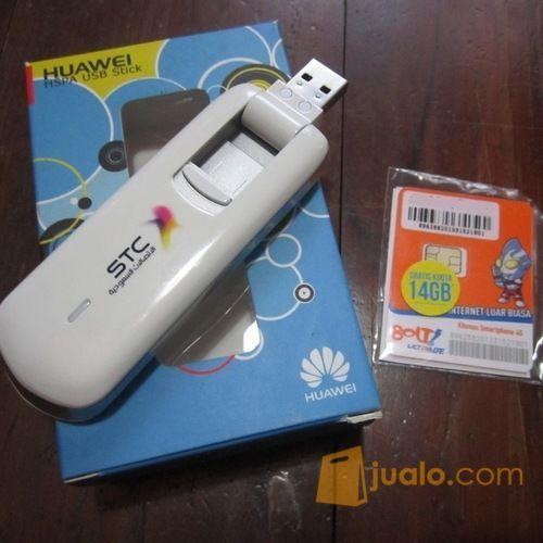 Paket Internet 4G Unlimited tanpa Kuota FUP + Modem Huawei E3276 STC