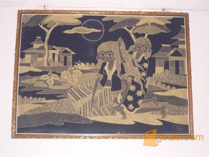 Lukisan batik antik koleksi lainnya 7257059
