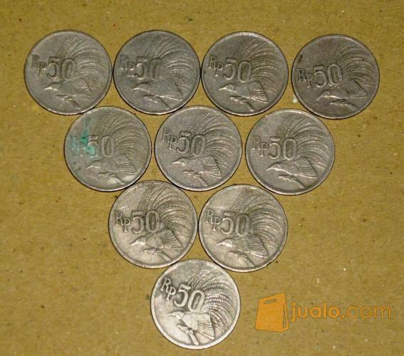 Koin rp 50 emisi 1 koleksi uang dan koin 7310499
