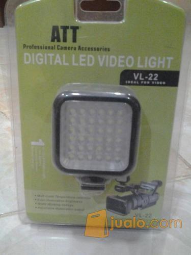 Dvd led light video fotografi perlengkapan kamera pro 7324607