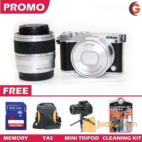 Nikon 1 j5 double kit fotografi kamera dslr 7347443