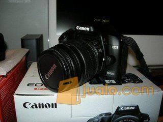 Kamera Dslr Canon Eos 1000d Kit Lens 18 55mm