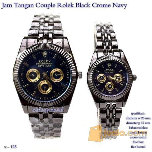 Jam tangan couple rol mode gaya jam tangan 7660653