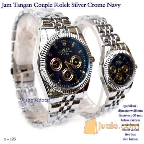 Jam tangan couple rol mode gaya jam tangan 7662817