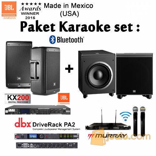 Paket karaoke jbl co tv audio audio player rec 8110617