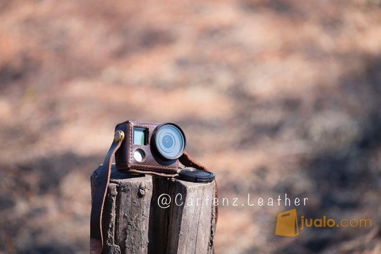 Gopro leathercase kod fotografi perlengkapan kamera pro 8130329