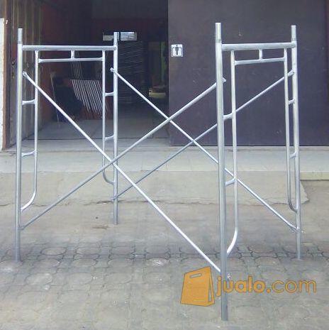 Scaffolding galvanis kebutuhan rumah tangga konstruksi dan taman 8140903