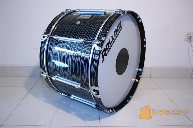 Bass drum tongkat smp alat musik drum perkusi 8776117