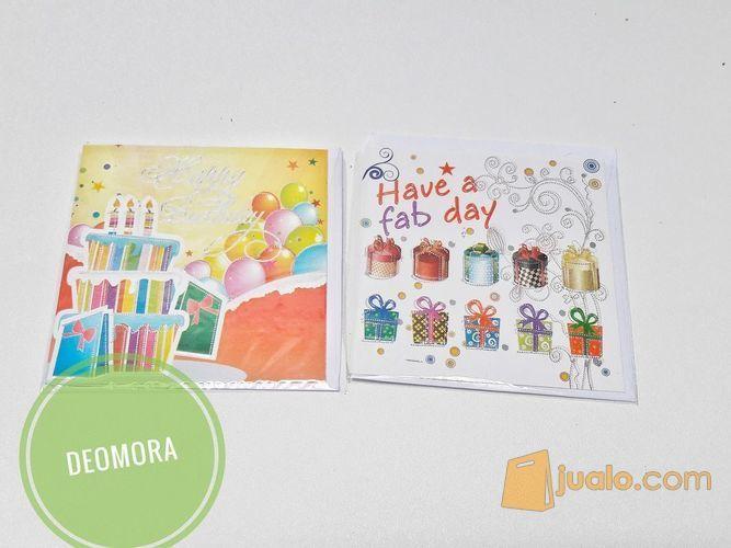 Kartu ucapan ulang tahun - Depok - Jualo