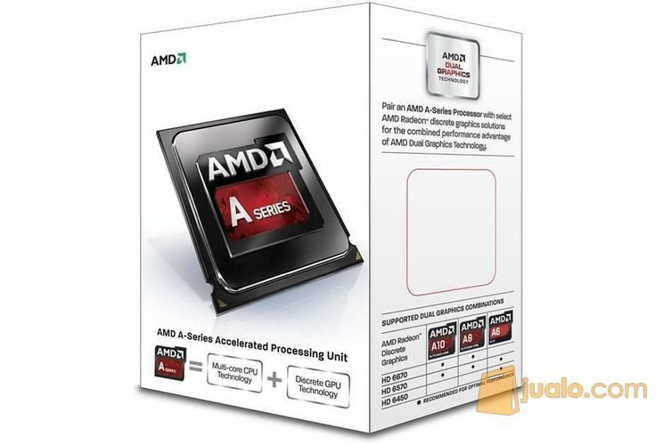 Amd richland a4 6300 komputer komponen 9185347