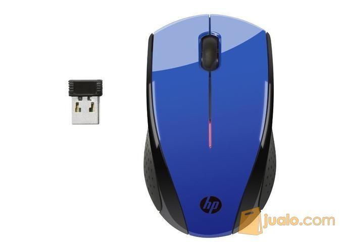 Hp x3000 blue wireles komputer keyboard mouse 9250879
