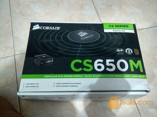 Corsair cs650m semi m komputer komponen 9954853