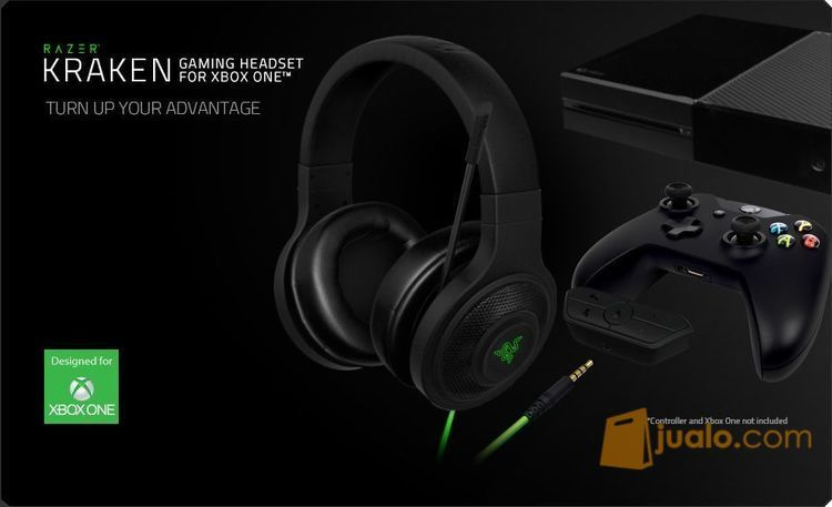 Razer kraken xbox one tv audio headphone 9958663