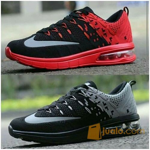 factory authentic efef0 e7b15 Sepatu Nike Airmax Flyknit Tabung Cowok Cowo Men Man Pria Air Max Tab