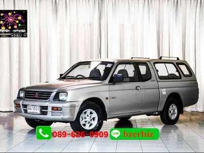 MITSUBISHI L200 STRADA  2.8 GLX MEGA CAB 1998