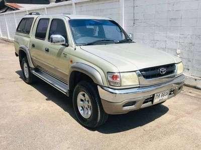 TOYOTA HILUX TIGER 2.5 G X-TRA CAB 4WD D4D 2002