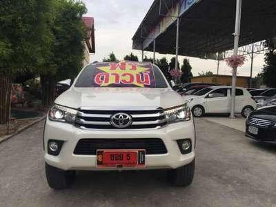TOYOTA HILUX REVO 2.8 G 4WD DOUBLE CAB NAVI 2017