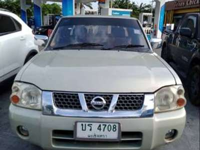NISSAN FRONTIER 3.0 ZDI-T DOUBLE CAB 4WD 2002