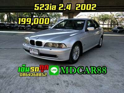 BMW SERIES 5 523 IA EXECUTIVE 2002