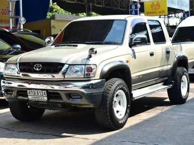 TOYOTA HILUX TIGER 2.5 S DOUBLE CAB D4D 4WD 2002