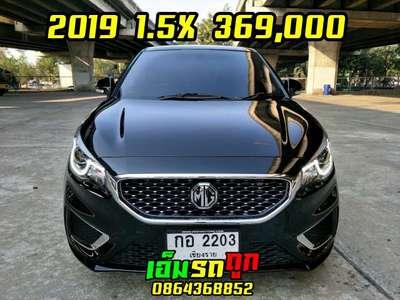 MG 3 1.5 X SUNROOF 2019