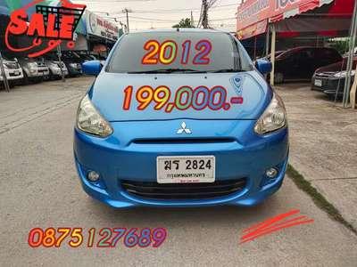 MITSUBISHI MIRAGE 1.2 GLX 2012