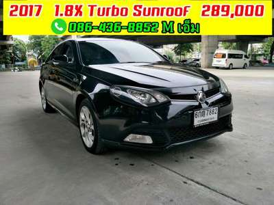 MG 6 1.8 X TURBO SUNROOF 2017